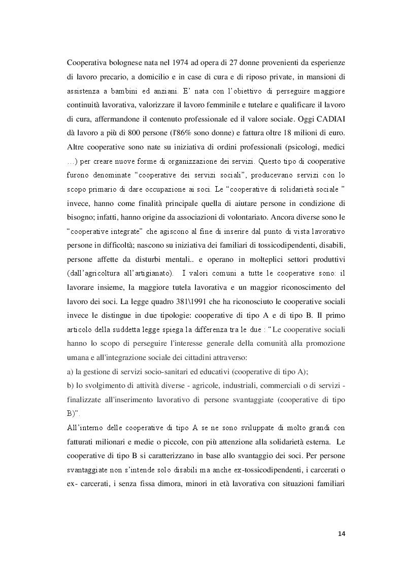 Estratto dalla tesi: La Banca del Tempo e gli enti locali:  il caso lombardo
