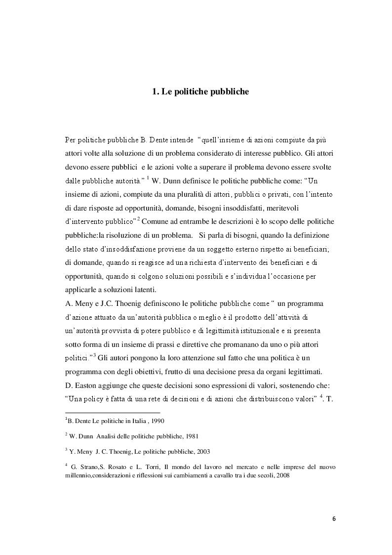 Anteprima della tesi: La Banca del Tempo e gli enti locali:  il caso lombardo, Pagina 3
