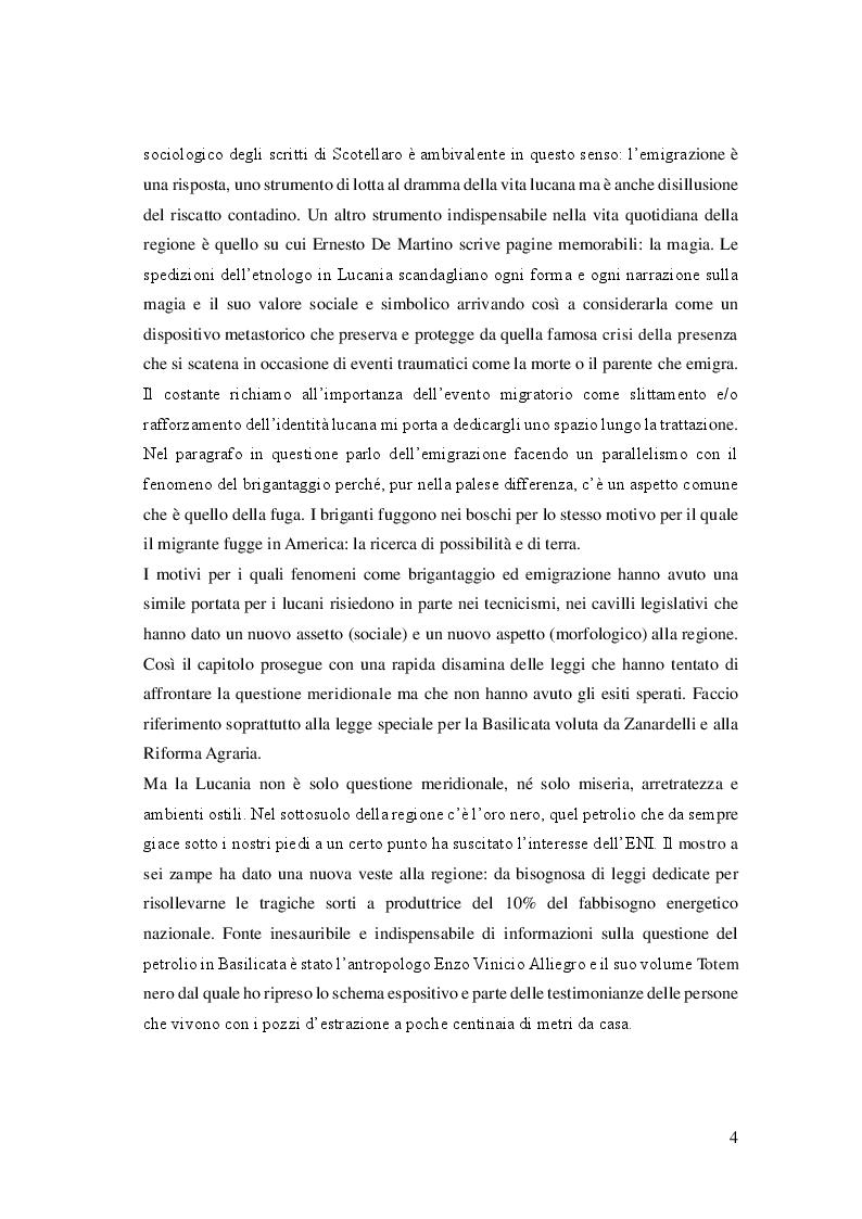 Anteprima della tesi: Cibo, identità e territorio: narrazioni contemporanee sul patrimonio alimentare lucano, Pagina 3