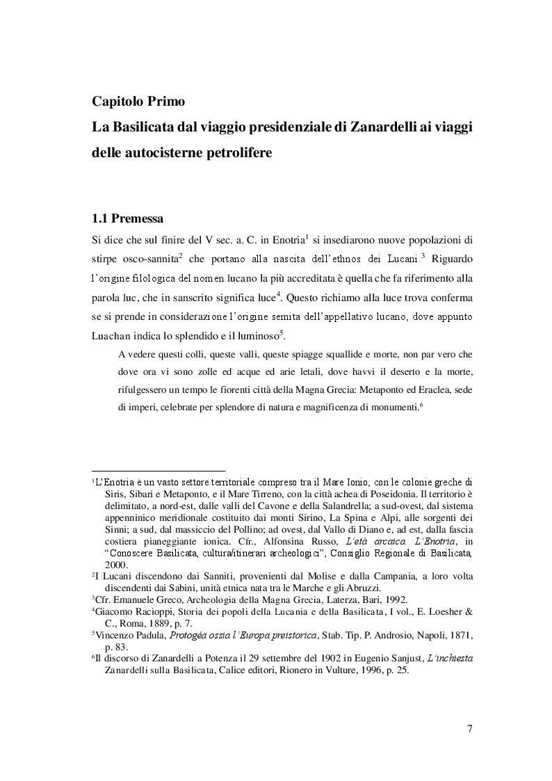 Anteprima della tesi: Cibo, identità e territorio: narrazioni contemporanee sul patrimonio alimentare lucano, Pagina 6