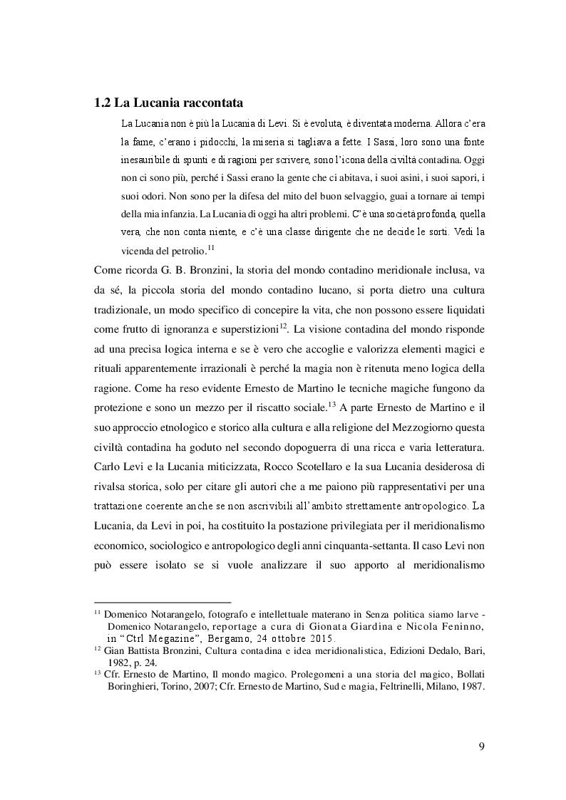 Anteprima della tesi: Cibo, identità e territorio: narrazioni contemporanee sul patrimonio alimentare lucano, Pagina 8
