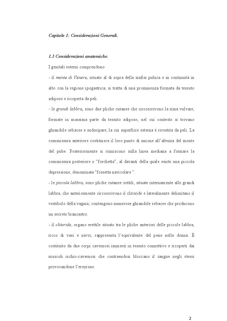 Anteprima della tesi: Cambio di sesso: aspetti clinici, chirurgici e medicolegali, Pagina 3