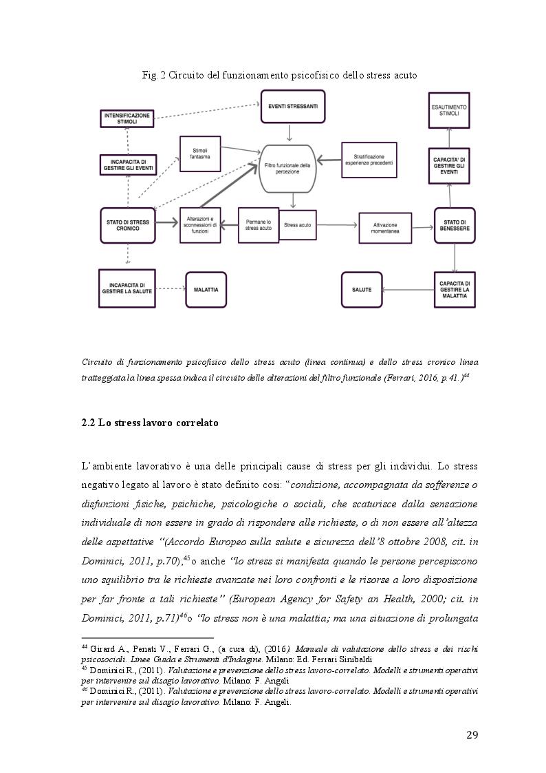 Anteprima della tesi: Lo stress lavoro correlato e rischi psicosociali emergenti, Pagina 7