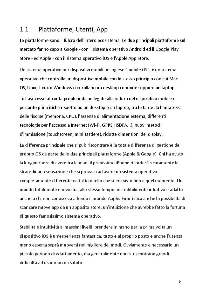 Anteprima della tesi: Strategie dei concorrenti ed evoluzioni del mercato Smartphone, Pagina 3