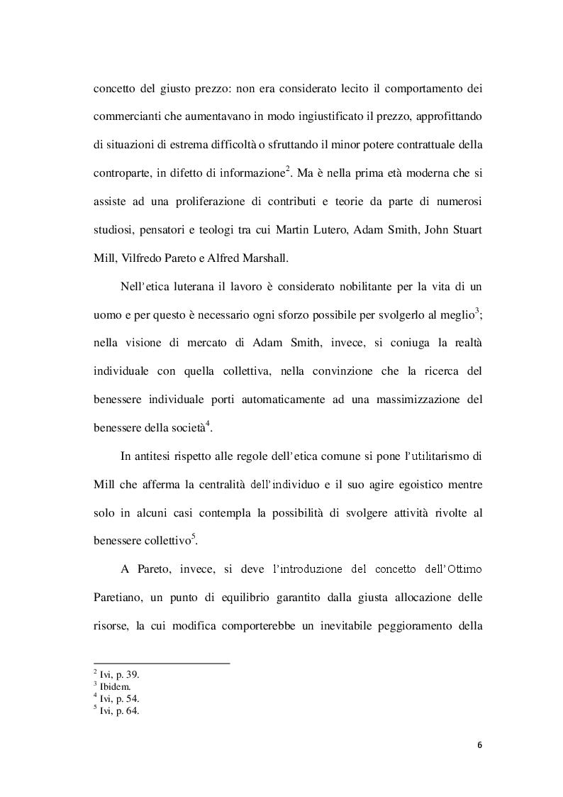Anteprima della tesi: La Corporate social responsability e il ruolo del bilancio sociale, Pagina 6