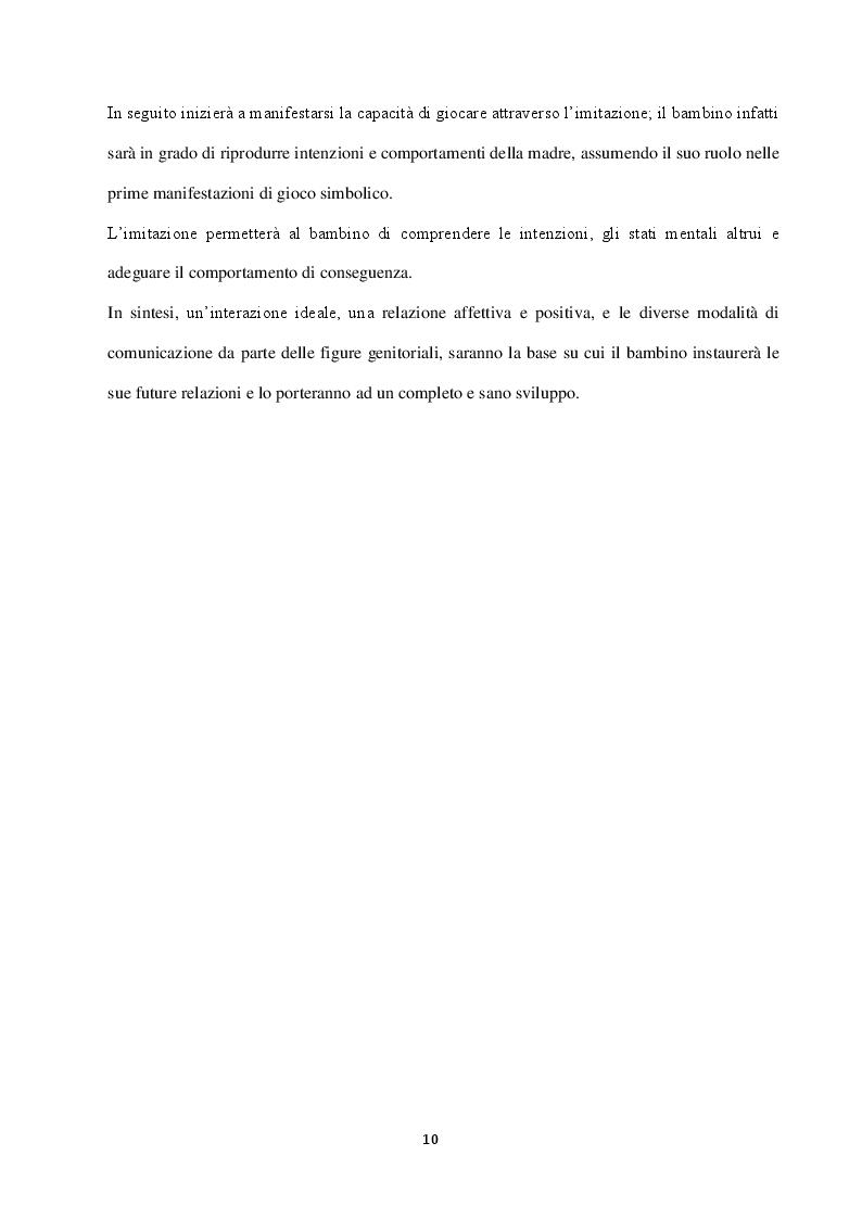 Anteprima della tesi: Autismo: difficoltà socio-comunicative e metodi di riabilitazione, Pagina 7