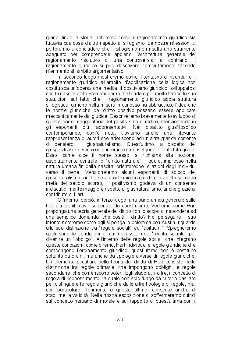 Anteprima della tesi: La teoria del ragionamento giuridico di Neil MacCormick, un approccio post-positivista all'argomentazione, Pagina 5