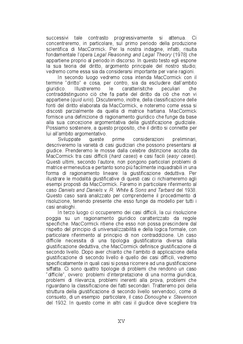 Anteprima della tesi: La teoria del ragionamento giuridico di Neil MacCormick, un approccio post-positivista all'argomentazione, Pagina 7