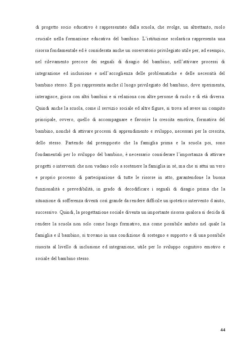 Anteprima della tesi: La povertà educativa e le azioni di contrasto. Il contributo della progettazione sociale nell'abito scolastico, Pagina 5