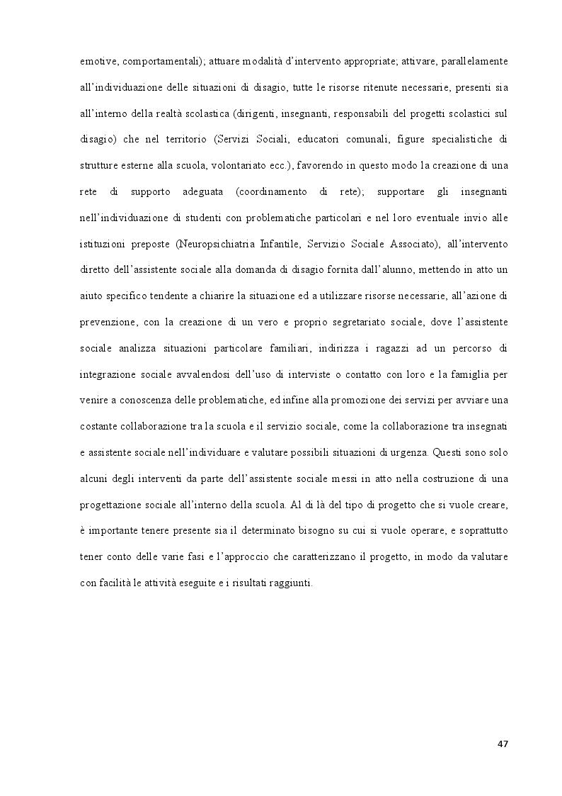 Anteprima della tesi: La povertà educativa e le azioni di contrasto. Il contributo della progettazione sociale nell'abito scolastico, Pagina 8