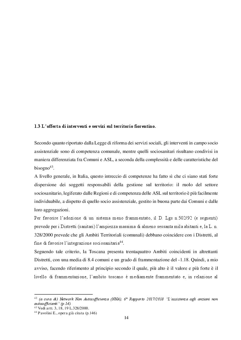 Anteprima della tesi: Esperienze di Mediazione Familiare Intergenerazionale nel comune di Firenze. Il ruolo dell'assistente sociale., Pagina 2