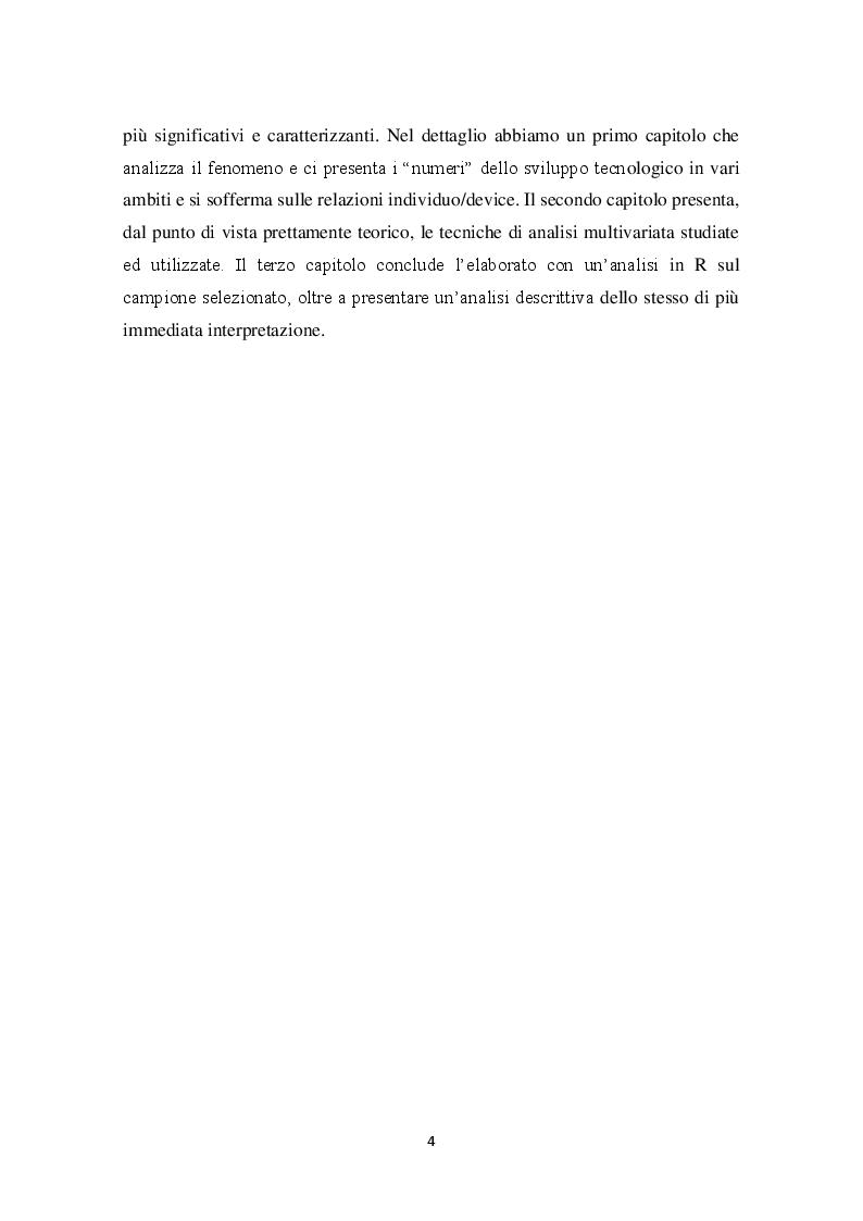 Anteprima della tesi: Comportamento di acquisto e di consumo nel mondo dello smartphone: un'analisi statistica, Pagina 3