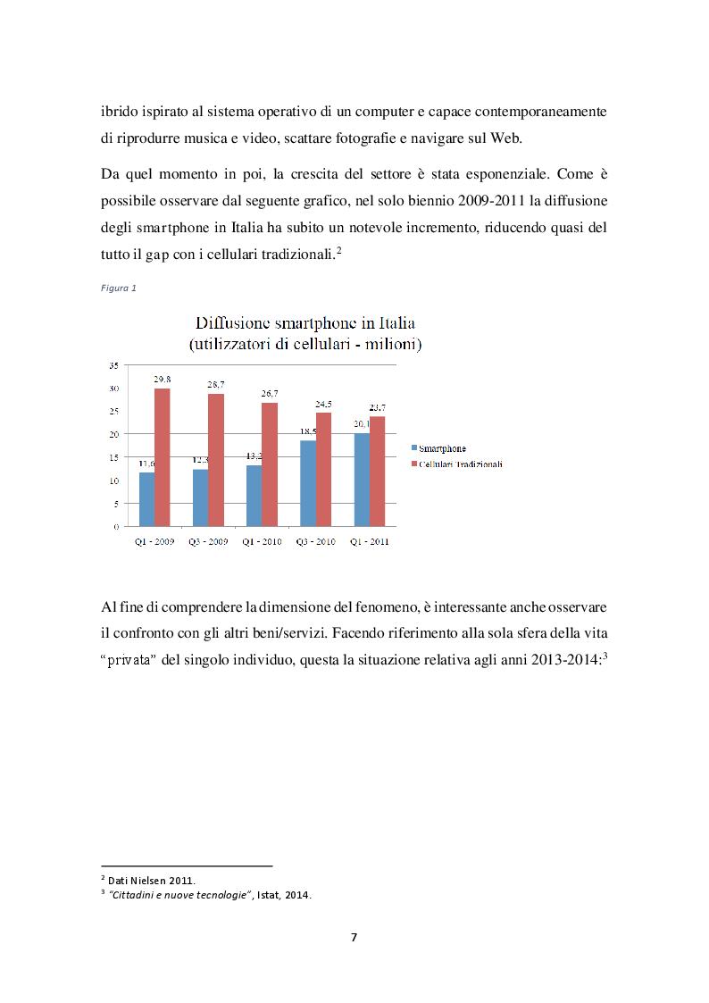 Anteprima della tesi: Comportamento di acquisto e di consumo nel mondo dello smartphone: un'analisi statistica, Pagina 6
