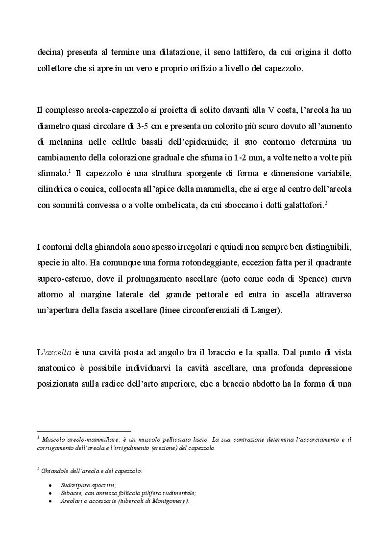 Anteprima della tesi: Management infermieristico nella donna con ricostruzione mammaria: dalla diagnosi  alla riabilitazione, Pagina 6