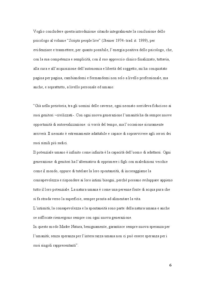 Anteprima della tesi: Claude M. Steiner: viaggio alla scoperta della personalità, Pagina 5