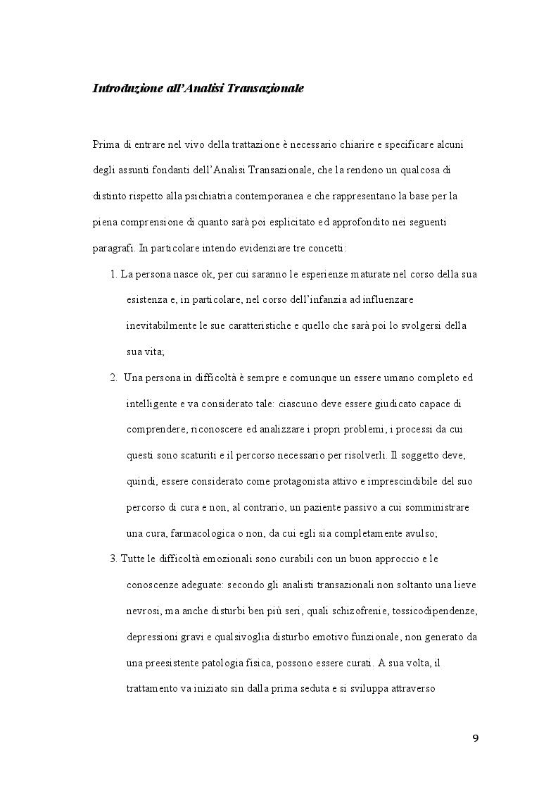 Anteprima della tesi: Claude M. Steiner: viaggio alla scoperta della personalità, Pagina 8