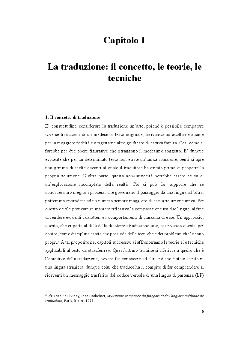 Anteprima della tesi: La traduzione e il discorso politico: tradurre Donald Trump dall'inglese al francese, Pagina 5