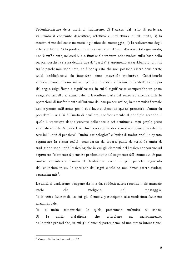 Anteprima della tesi: La traduzione e il discorso politico: tradurre Donald Trump dall'inglese al francese, Pagina 8