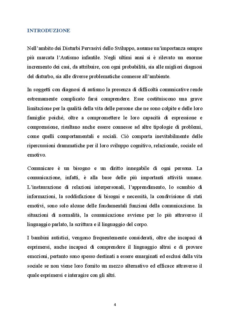 Anteprima della tesi: La difficoltà della comunicazione e dello sviluppo del linguaggio in bambini affetti da autismo, Pagina 2