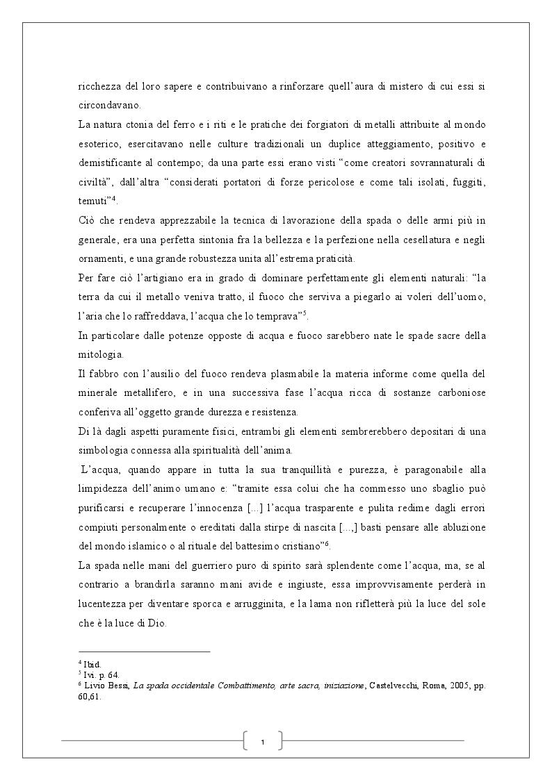 Anteprima della tesi: La spada magica, Pagina 5
