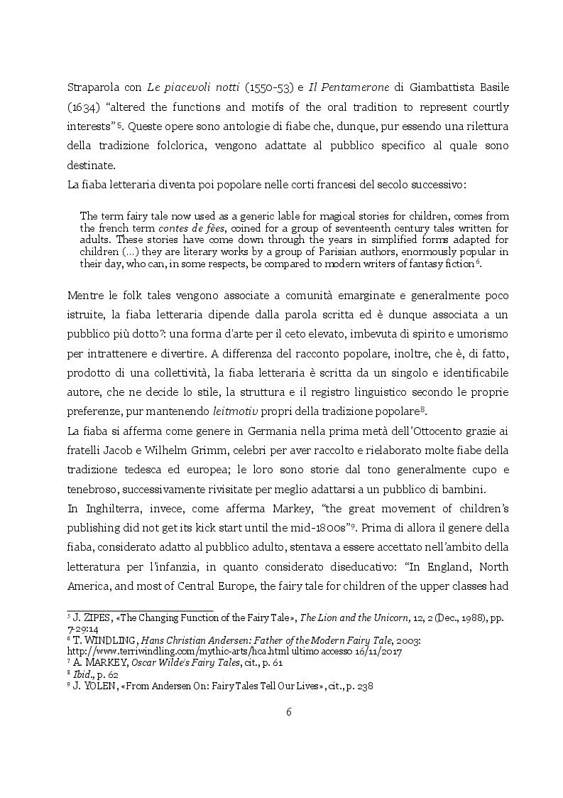 Anteprima della tesi: The Happy Prince and Other Tales: fortuna editoriale delle fiabe di Oscar Wilde, Pagina 4