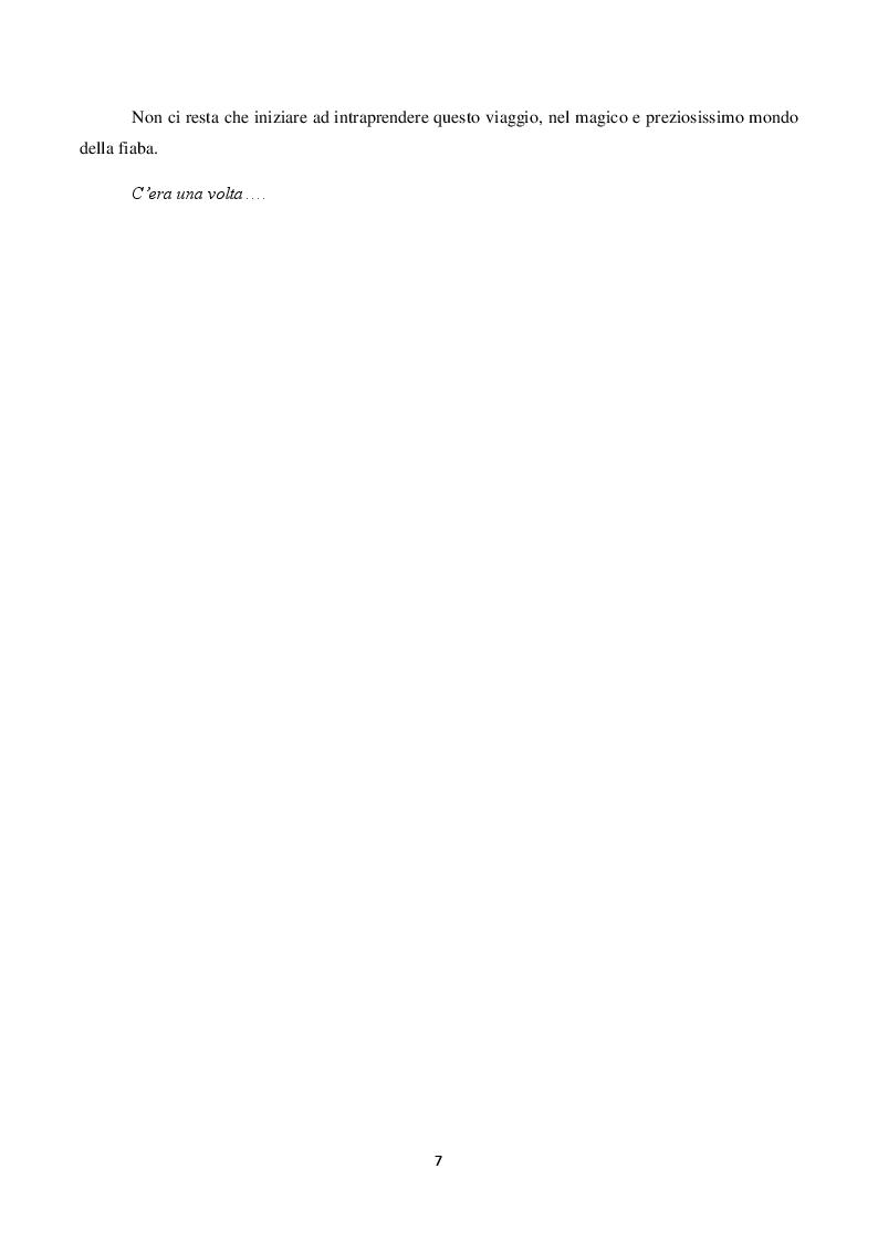 Anteprima della tesi: Il ruolo della fiaba nel narrare le emozioni.     La fiaba come strumento terapeutico e preventivo in caso di abuso e maltrattamenti., Pagina 5