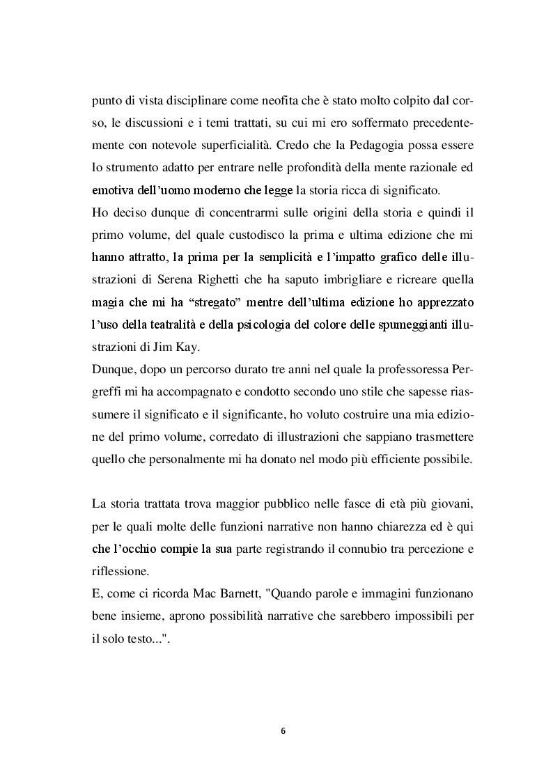Anteprima della tesi: Harry Potter -  un potente strumento per lo sviluppo e l'educazione del bambino, Pagina 3
