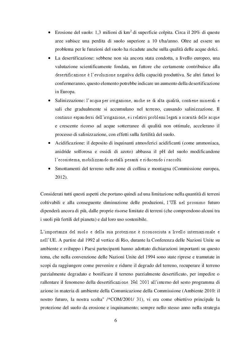 Anteprima della tesi: Valore agronomico ed effetti ambientali del compost da digestato, Pagina 7