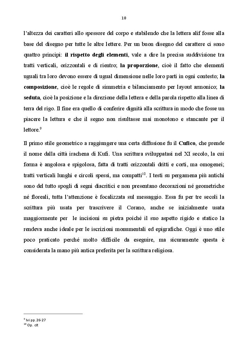 Anteprima della tesi: Calligrafia estremo-orientale e calligrafia occidentale, Pagina 3