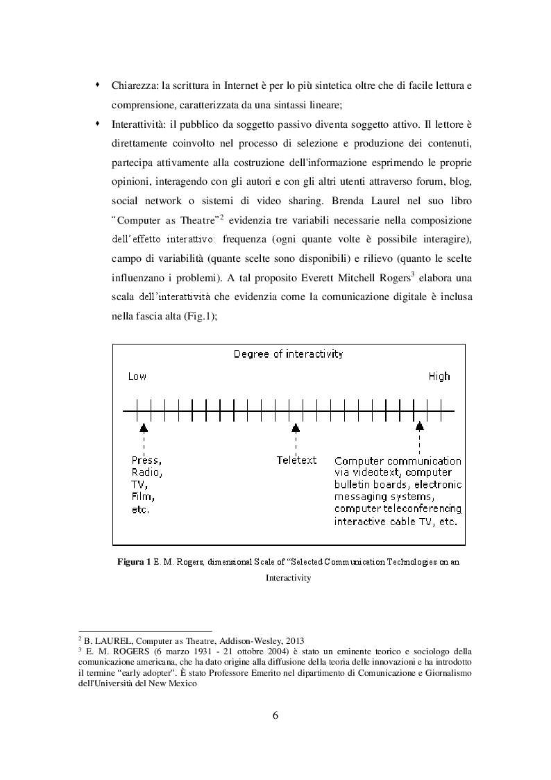 Anteprima della tesi: Profili giuridici del giornalismo digitale, Pagina 5