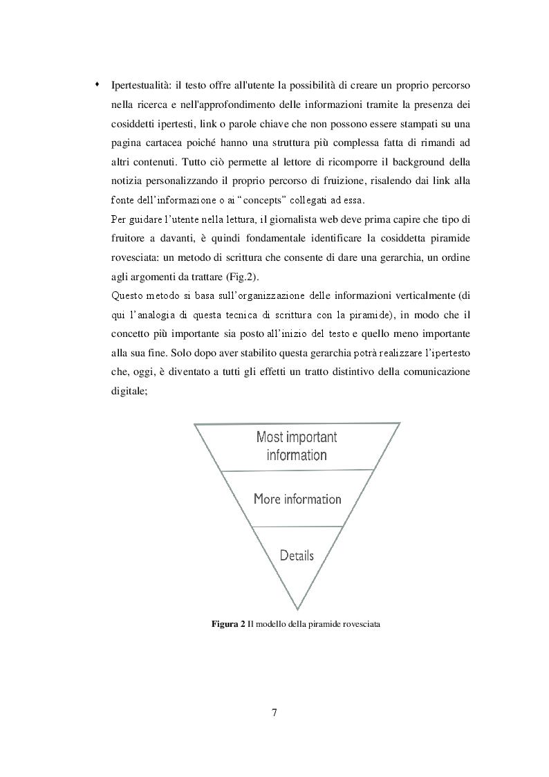 Anteprima della tesi: Profili giuridici del giornalismo digitale, Pagina 6