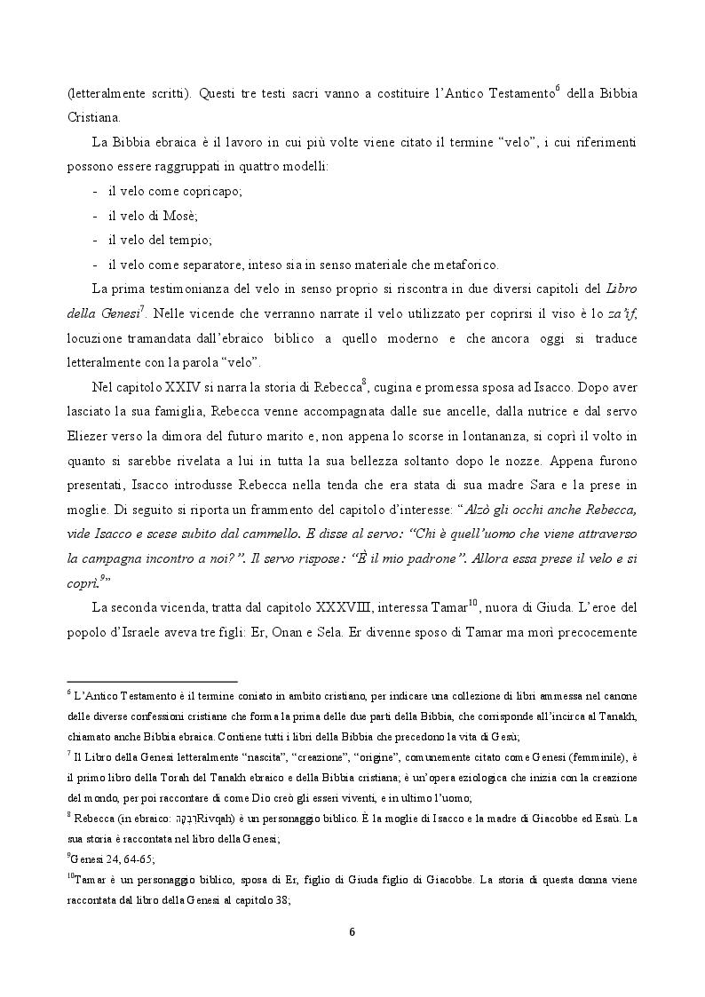 Anteprima della tesi: Il velo tra moda e sicurezza, Pagina 5