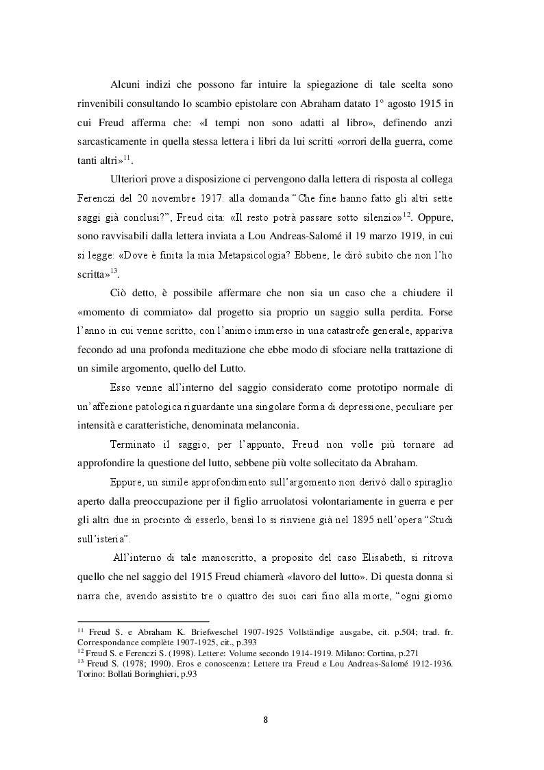 Anteprima della tesi: Perdersi per ritrovarsi: l'esperienza della perdita e la riscoperta di se stessi, Pagina 7