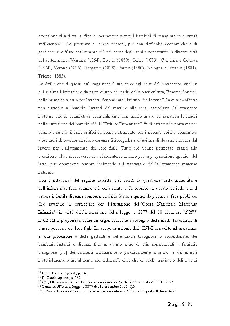 Anteprima della tesi: Progettare un nido d'infanzia: orientamenti pedagogici, spazi, tempi, funzionamento, Pagina 4