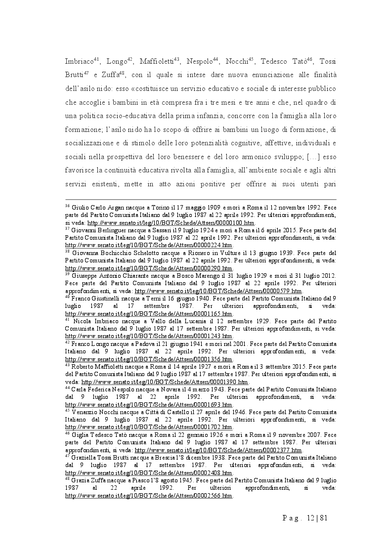 Anteprima della tesi: Progettare un nido d'infanzia: orientamenti pedagogici, spazi, tempi, funzionamento, Pagina 8