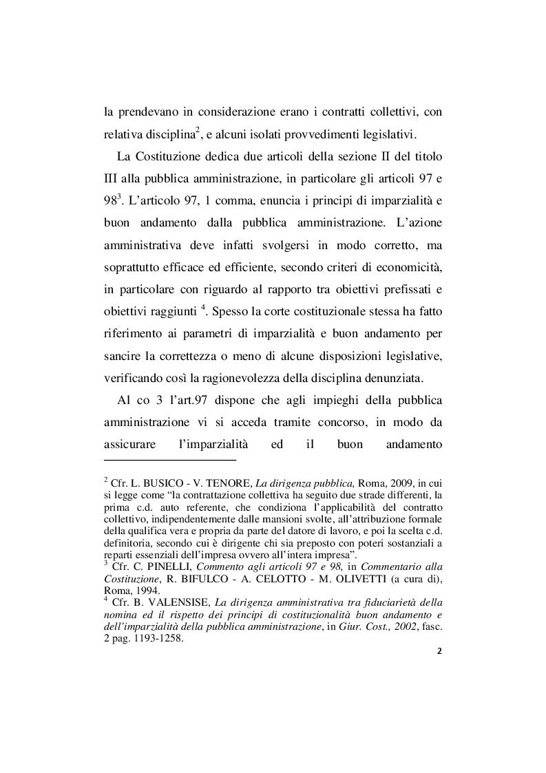Anteprima della tesi: La responsabilità amministrativa per illecito conferimento di incarichi esterni, Pagina 8