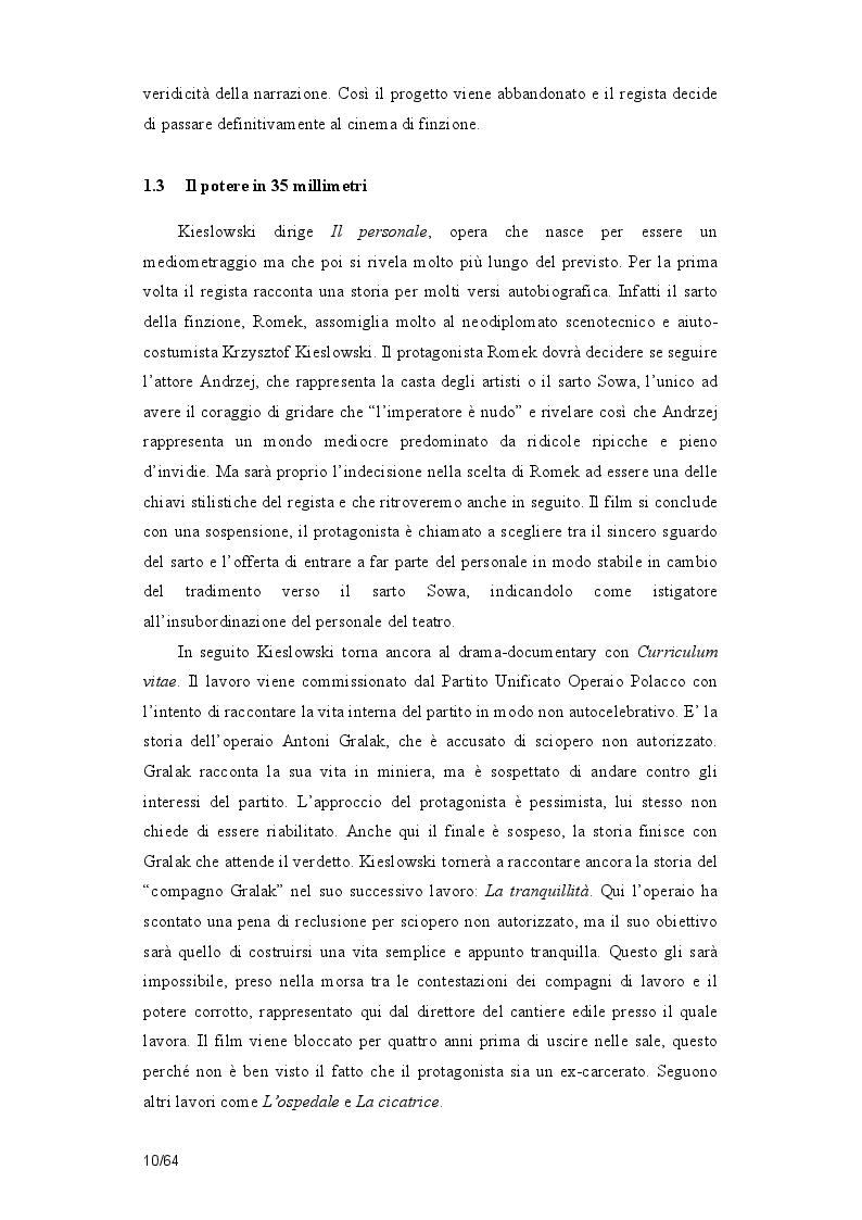 Estratto dalla tesi: La poetica della casualità in Film rosso di Krzysztof  Kieslowsi