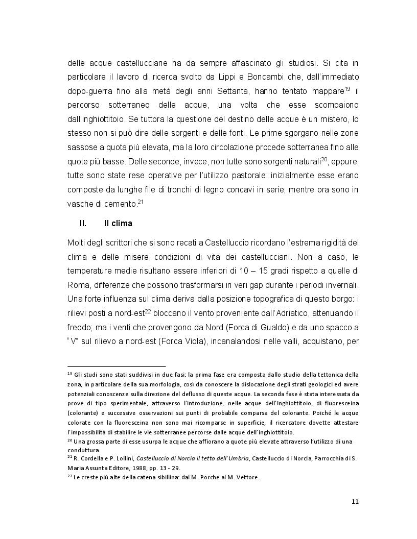 Anteprima della tesi: Turismo e terremoto: analisi degli impatti sismici sui flussi turistici a Castelluccio di Norcia. Proposte per la ripartenza e la riqualificazione del settore., Pagina 8