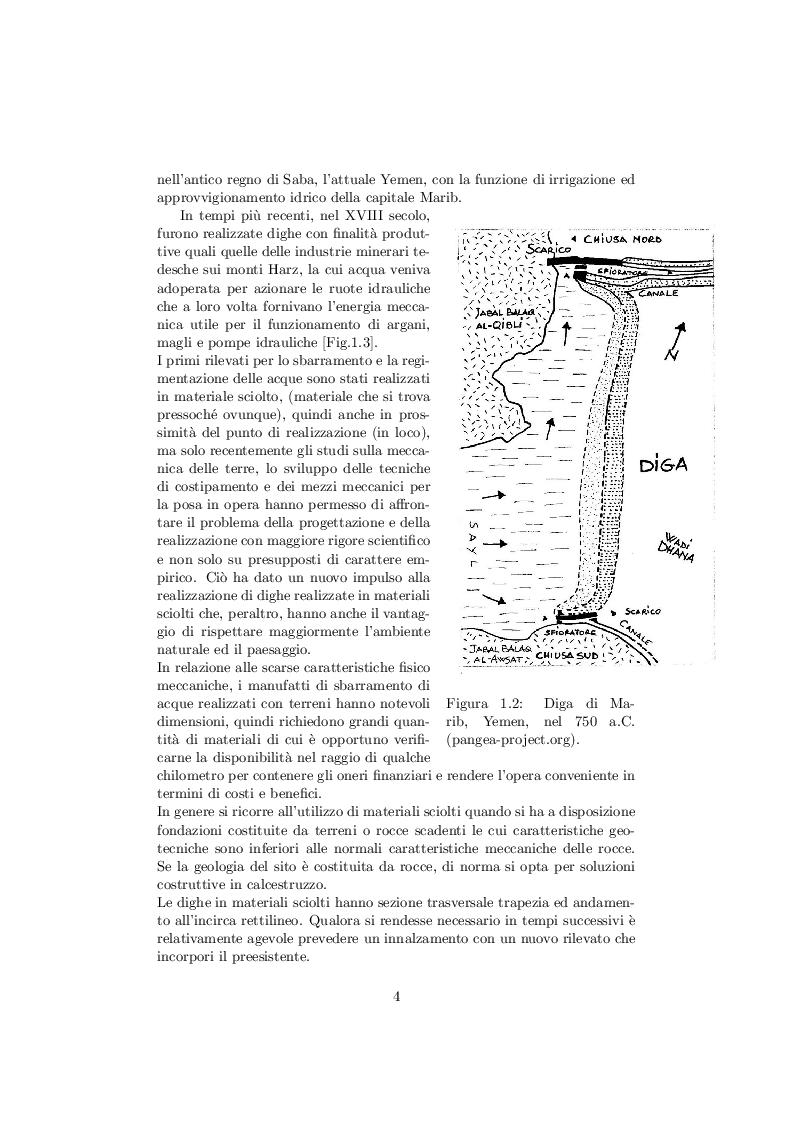Anteprima della tesi: Comportamento delle dighe in terra soggette ad azioni sismiche, Pagina 5