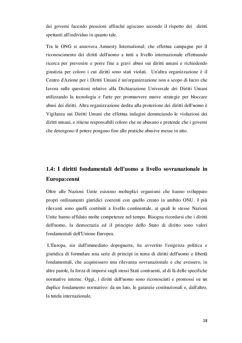 Anteprima della tesi: L'influenza del diritto dell'Unione Europea nel diritto del lavoro, Pagina 8