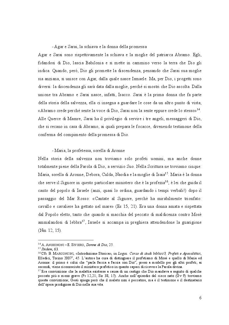 Anteprima della tesi: Il ministero della donna nella Liturgia tra passato e futuro, Pagina 3