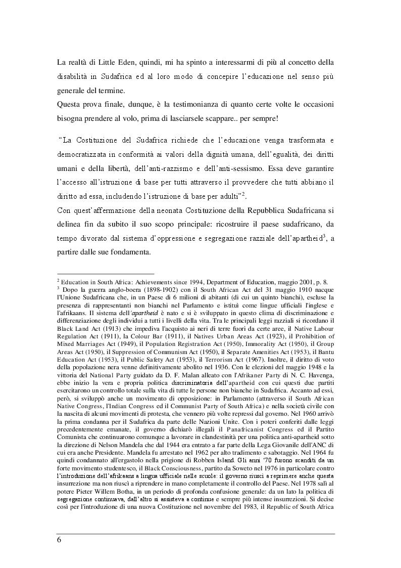 Anteprima della tesi: Il sistema scolastico sudafricano dal 1967 ad oggi, Pagina 3