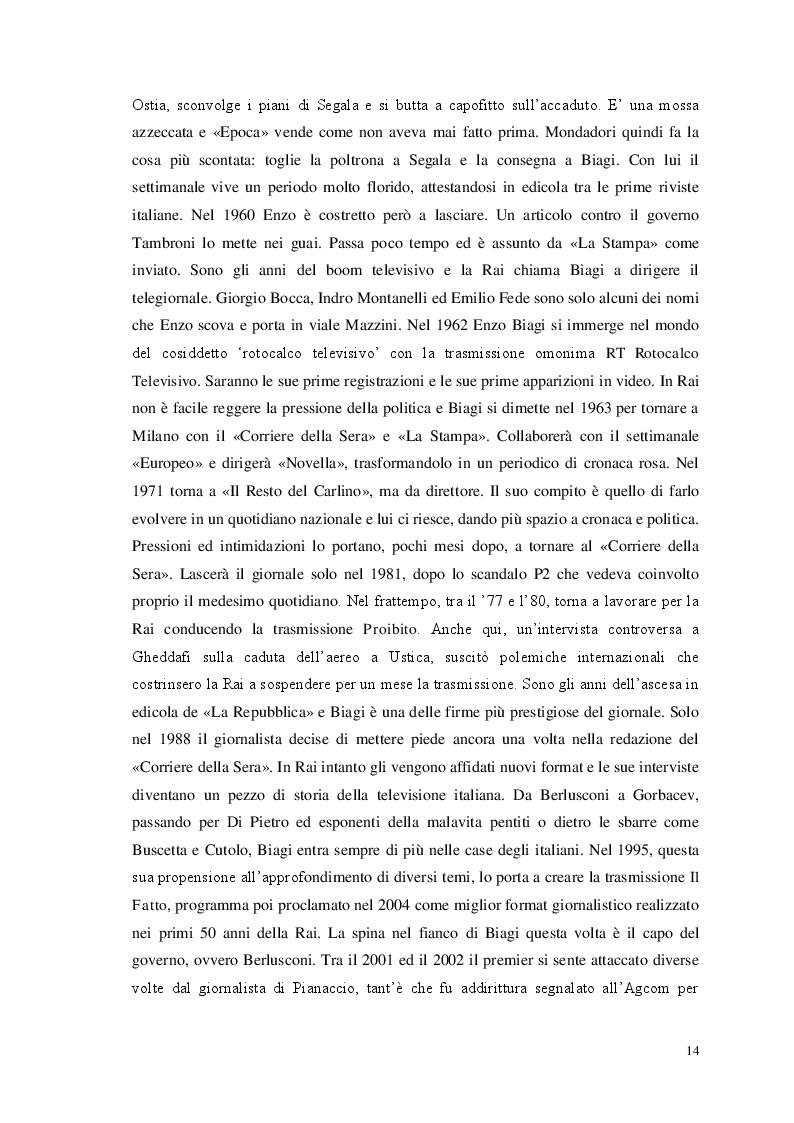 Estratto dalla tesi: Storia e giornalismo nella narrativa di Enzo Biagi