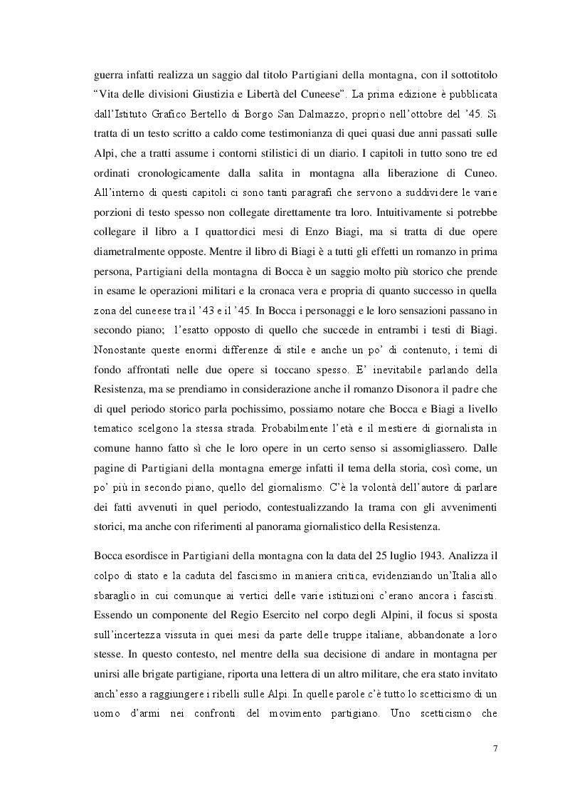 Anteprima della tesi: Storia e giornalismo nella narrativa di Enzo Biagi, Pagina 4