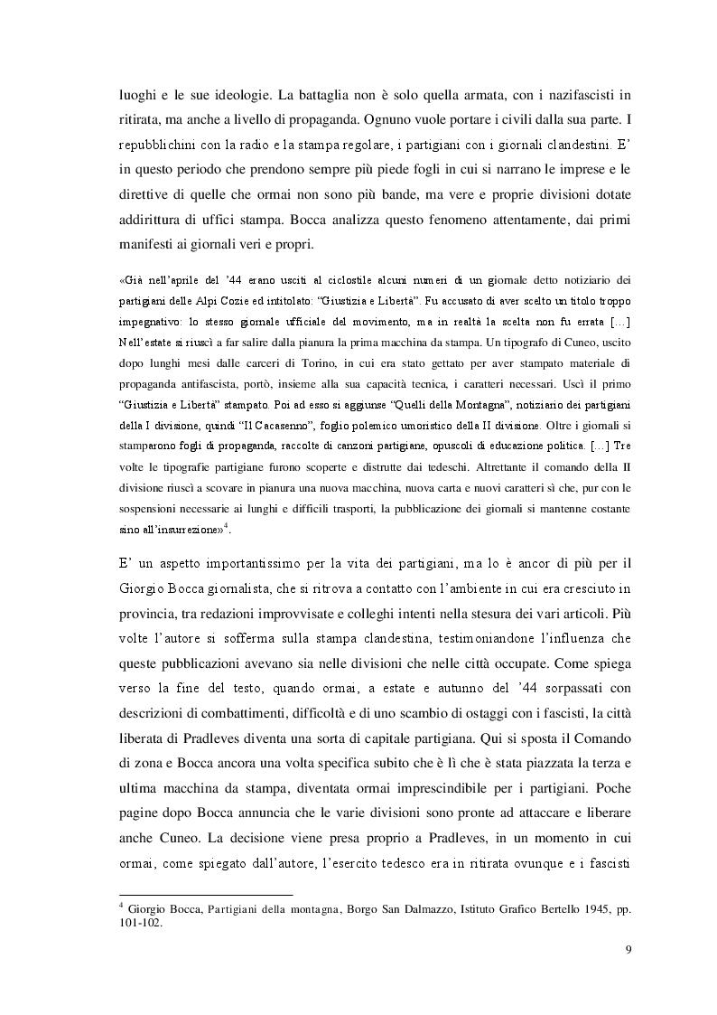 Anteprima della tesi: Storia e giornalismo nella narrativa di Enzo Biagi, Pagina 6