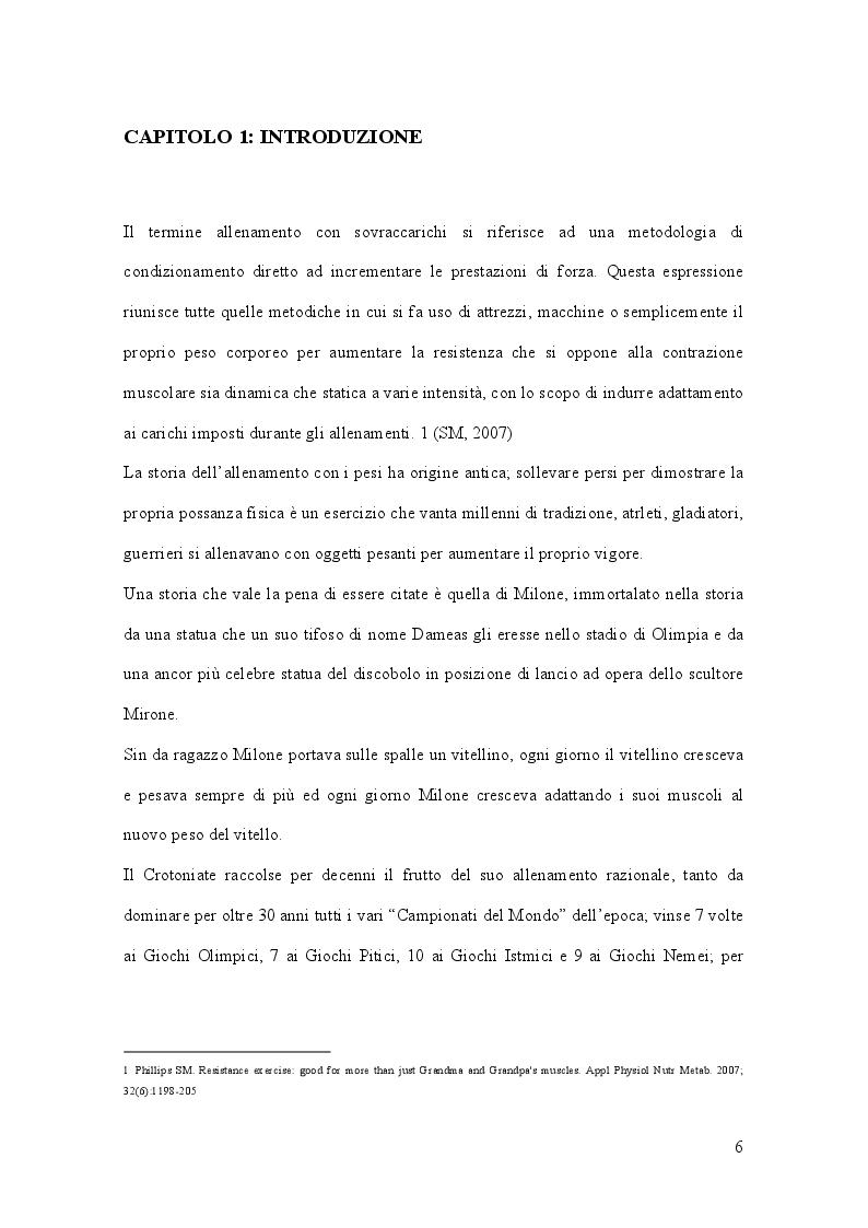 Anteprima della tesi: Allenamento con sovraccarico negli sport di squadra, Pagina 2