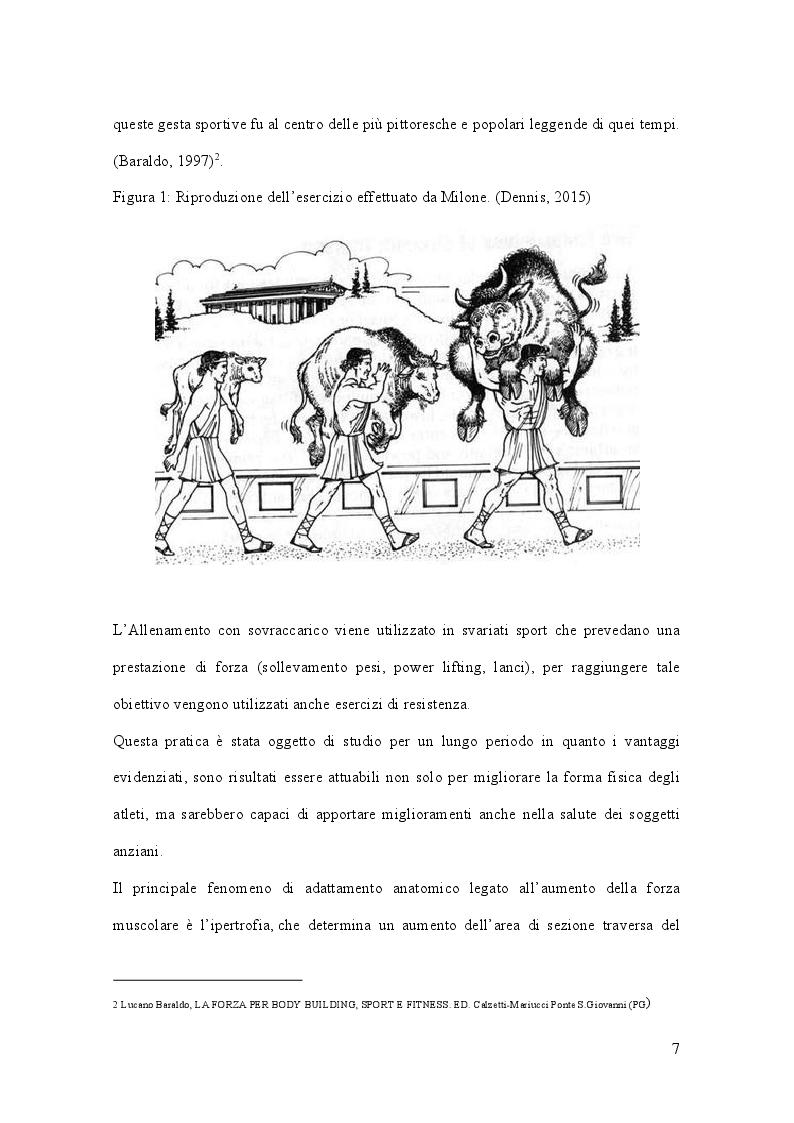 Anteprima della tesi: Allenamento con sovraccarico negli sport di squadra, Pagina 3