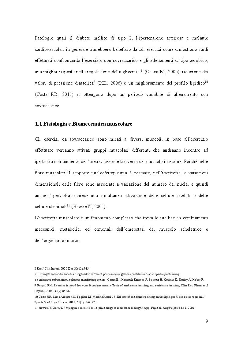 Anteprima della tesi: Allenamento con sovraccarico negli sport di squadra, Pagina 5
