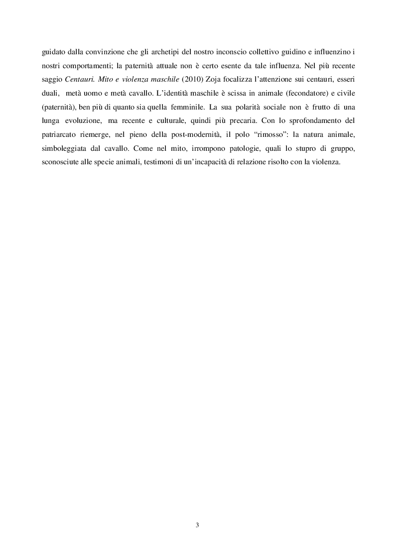 Anteprima della tesi: Alla ricerca del padre perduto, Pagina 4