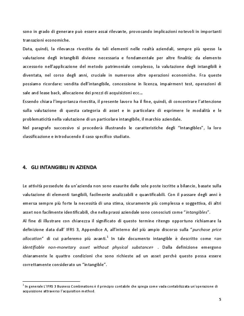 Anteprima della tesi: La valutazione dei marchi con il metodo dei risultati differenziali: il caso Humana Italia, Pagina 4